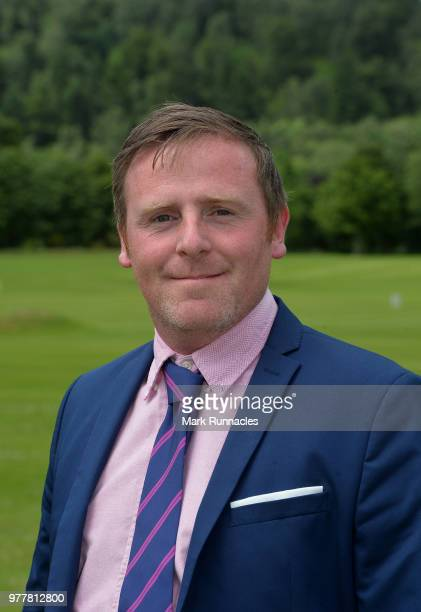 Norman Huguet of Musselburgh GC after winning the Lombard Trophy Scottish Qualifier at Crieff Golf Club on June 18 2018 in Crieff Scotland