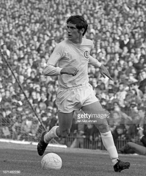 Norman Hunter of Leeds United and England playing against Crystal Palace in the Football League Div 1 at Selhurst Park on 18th October 1969