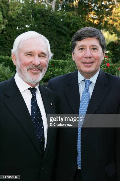 Norman Jewison and Consul General of Canada Alain Dudoit