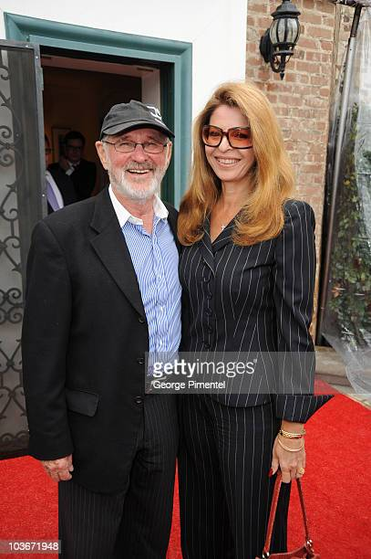 Norman Jewison and Lynn St Davis attend The Canadian Consulate Honors the 80th Annual Academy Award Nominees at the Canadian Residence February 22,...