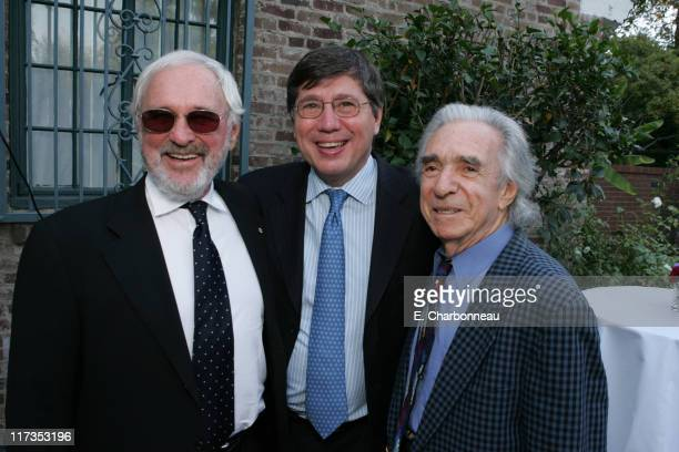 Norman Jewison, Consul General of Canada Alain Dudoit and Arthur Hiller