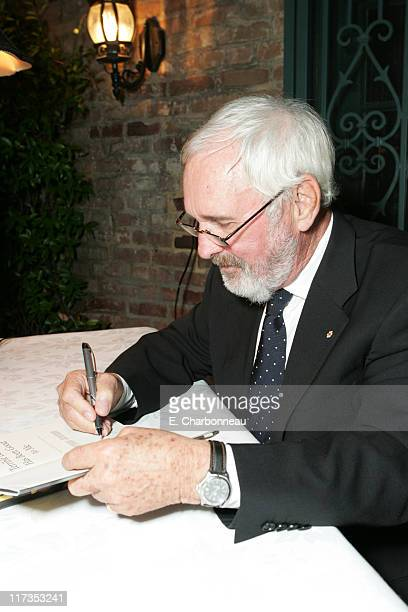 Norman Jewison during Norman Jewison Book Signing Hosted by Alain Dudoit, Consul General of Canada at Canadian Residence in Los Angeles, California,...