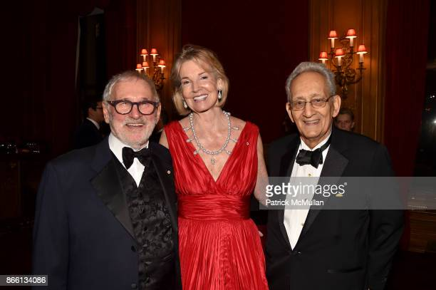 Norman Jewison The Hon Hilary M Weston and Frank Stella attend the Council for Canadian American Relations Gala at The Metropolitan Club on October...