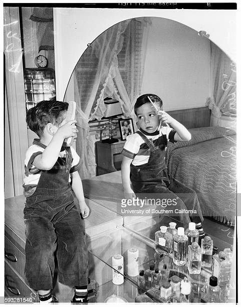 Norman Johnsrud Olivia Johnsrud with children Steven Johnsrud Dougie Johnsrud May 11 1951