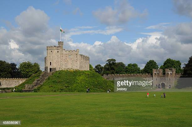 Norman Keep, Cardiff Castle, Wales