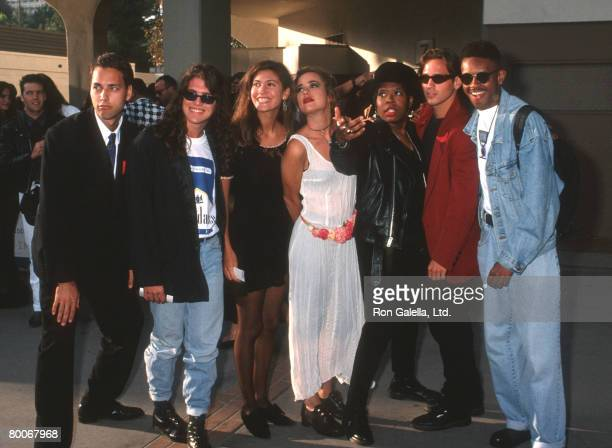 Norman Korpi, Andre Comeau, Julie Oliver, Rebecca Blasband, Heather B., Eric Nies and Kevin Powell of The Real World New York Cast