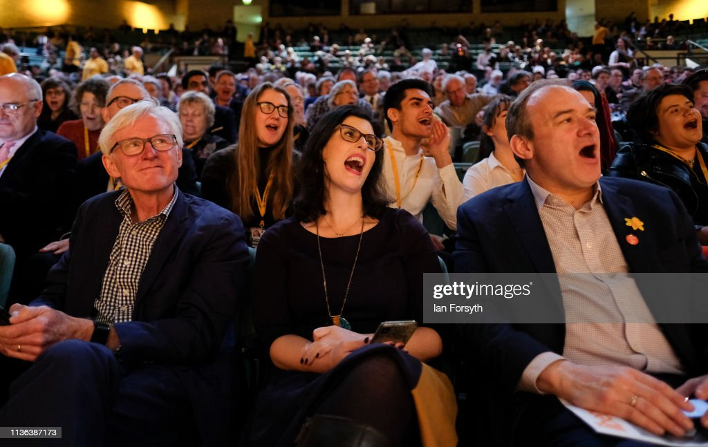 Vince Cable Delivers His Leader's Speech At Liberal Democrat Conference : News Photo