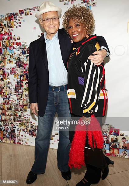 Norman Lear and actress Ja'net DuBois attends The Norman Lear Collection DVD Launch Party at The Paley Center for Media on June 1 2009 in Beverly...