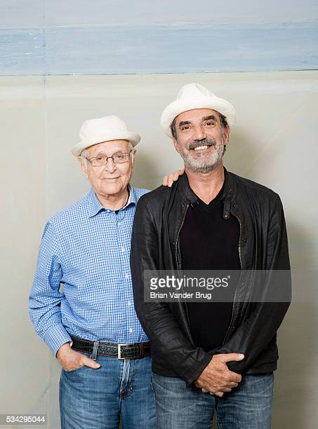 Norman Lear and Chuck Lorre are photographed for Los Angeles Times on April 20 2016 in Los Angeles California PUBLISHED IMAGE CREDIT MUST READ Brian...
