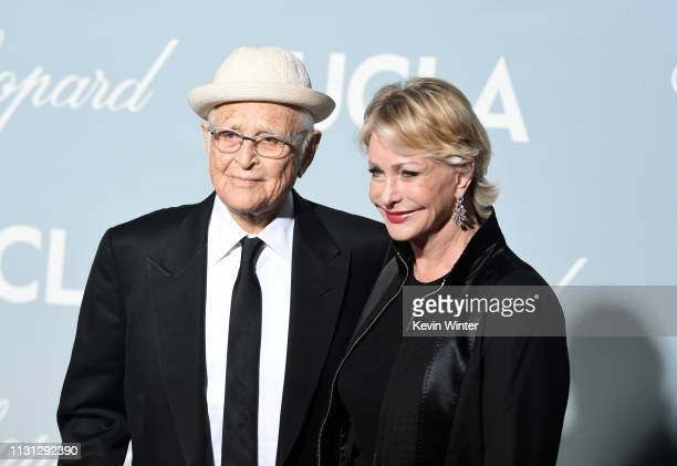 Norman Lear and Lyn Lear attend the 2019 Hollywood For Science Gala at Private Residence on February 21 2019 in Los Angeles California
