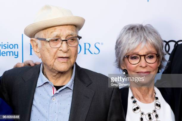 Norman Lear and Rita Moreno attend the 11th Annual Television Academy Honors at NeueHouse Hollywood on May 31 2018 in Los Angeles California