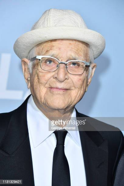 Norman Lear arrives at the 2019 Hollywood For Science Gala at Private Residence on February 21 2019 in Los Angeles California