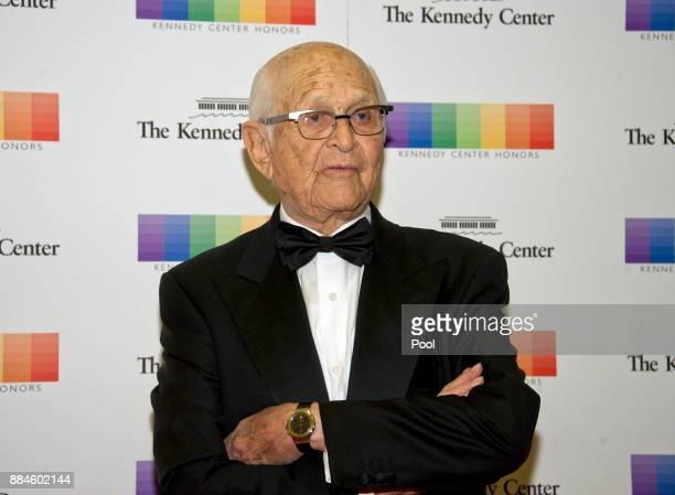 Norman Lear arrives for the formal Artist's Dinner honoring the recipients of the 40th Annual Kennedy Center Honors hosted by United States Secretary...