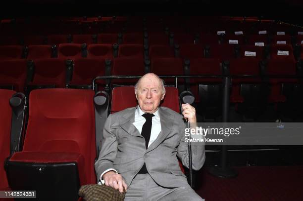 Norman Lloyd attends the screening of 'Blood Money' at the 2019 TCM 10th Annual Classic Film Festival on April 13 2019 in Hollywood California