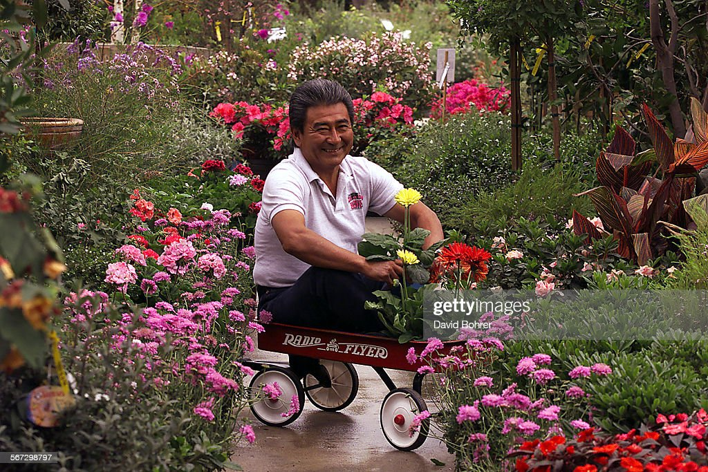Norman Mori Owner Of Mel O Dee Garden Center In Chatsworth A Family Owned Nursery Since 1949 Has