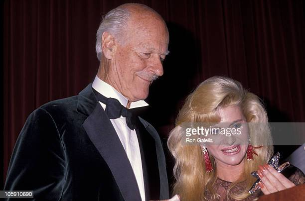 Norman Parkerson and Ivana Trump during The Fashion Group International's 6th Annual 'Night of 100 Stars' at The Plaza Hotel in New York City New...