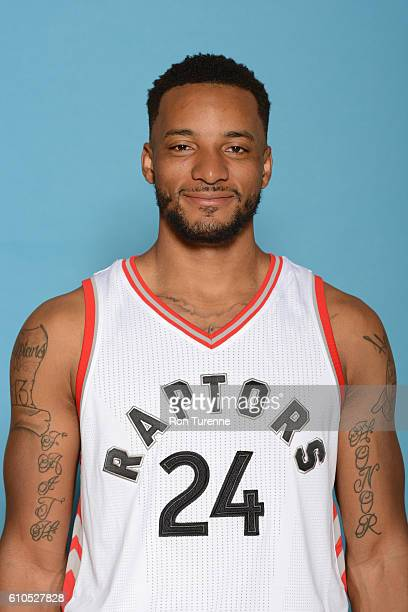Norman Powell of the Toronto Raptors poses for a head shot during the 20162017 Media Day on September 26 2016 at the BioSteel Centre in Toronto...