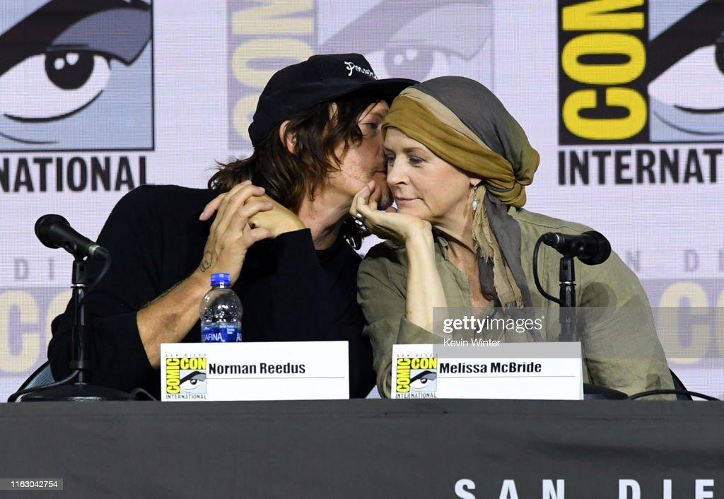 "2019 Comic-Con International - ""The Walking Dead"" Panel : ニュース写真"