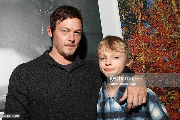 Norman Reedus And Son Mingus Attend The Photography By Exhibit Opening At Wired