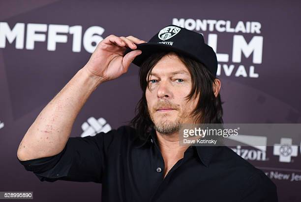 Norman Reedus arrives at the Montclair Film Festival 2016 on May 7 2016 in Montclair City