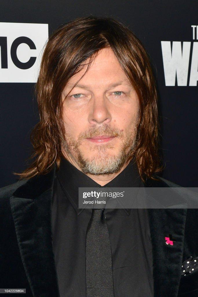 Premiere Of AMC's 'The Walking Dead' Season 9 - Arrivals : News Photo