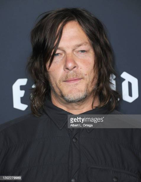 Norman Reedus arrives to Easyriders 50th Anniversary Celebration held at The House of Machines on February 20 2020 in Los Angeles California