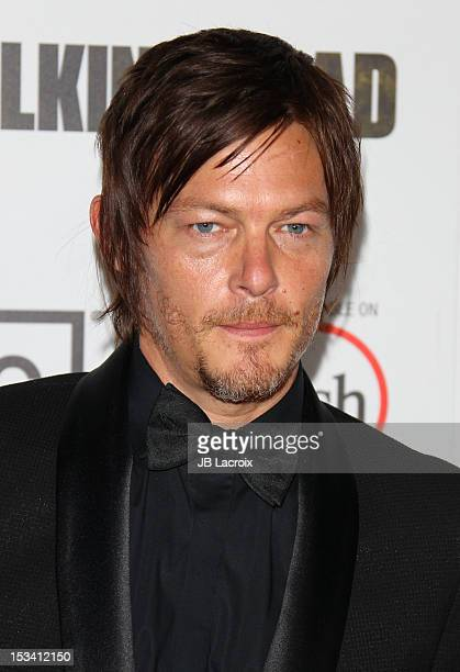 Norman Reedus attends the AMC's 'The Walking Dead' Season 3 Premiere held at Universal CityWalk on October 4 2012 in Universal City California