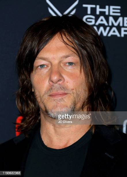 Norman Reedus attends The Game Awards 2019 at Microsoft Theater on December 12 2019 in Los Angeles California