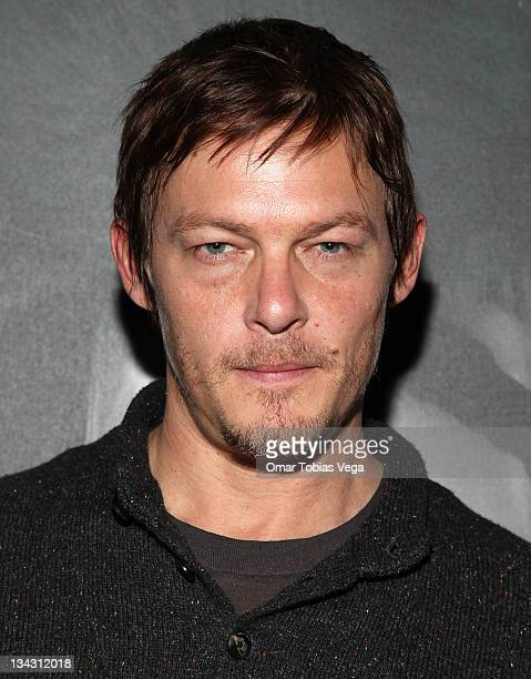 Norman Reedus attends the Photography by Norman Reedus exhibit opening at the Wired 2011 Store on November 30 2011 in New York City