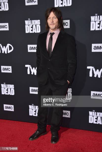 """Norman Reedus attends the Season 10 Special Screening of AMC's """"The Walking Dead"""" at Chinese 6 Theater– Hollywood on September 23, 2019 in Hollywood,..."""