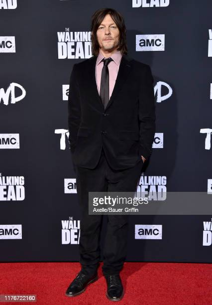 """Norman Reedus attends the Special Screening of AMC's """"The Walking Dead"""" Season 10 at Chinese 6 Theater– Hollywood on September 23, 2019 in Hollywood,..."""