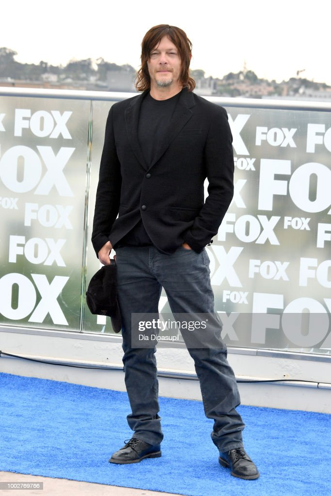 Norman Reedus attends 'The Walking Dead' Photo Call during Comic-Con International 2018 at Andaz San Diego on July 20, 2018 in San Diego, California.