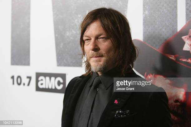 Norman Reedus attends The Walking Dead Premiere and After Party on September 27 2018 in Los Angeles California