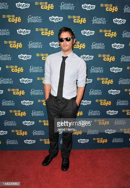 Norman Reedus attends WIRED Cafe At ComicCon at Palm Terrace At The Omni Hotel on July 14 2012 in San Diego California