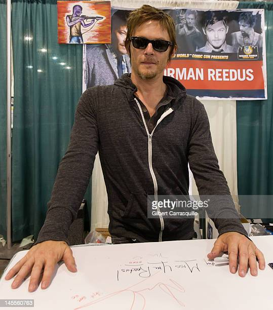 Norman Reedus attends Wizard World Philadelphia Comic Con 2012 at Pennsylvania Convention Center on June 1 2012 in Philadelphia Pennsylvania