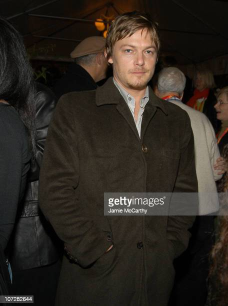 Norman Reedus during 2004 12th Annual Hamptons International Film Festival Chairman's Cocktail Reception Hosted by Stuart and Vicki Match at The Home...