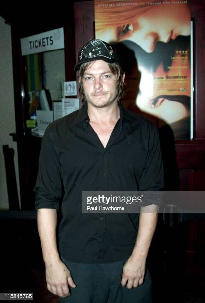 Norman Reedus during 'Demonlover' Premiere New York at Gramercy Theatre in New York City New York United States