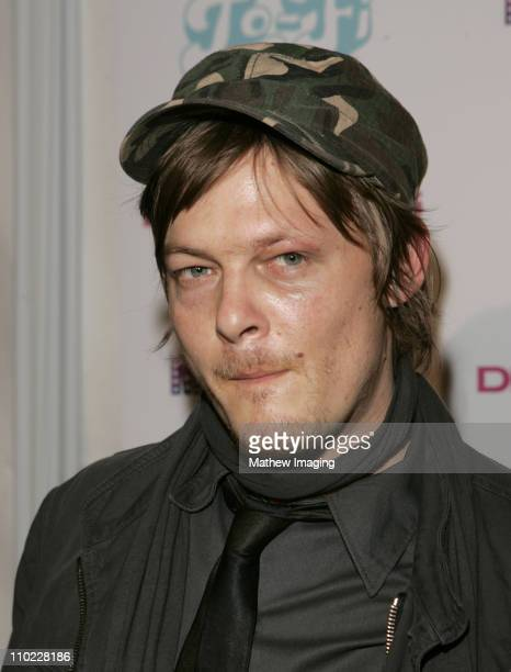 Norman Reedus during DKNY Jeans and LoFi Gallery Present 'Mick Rock Live in LA' Exhibit at LoFi Gallery in Hollywood California United States