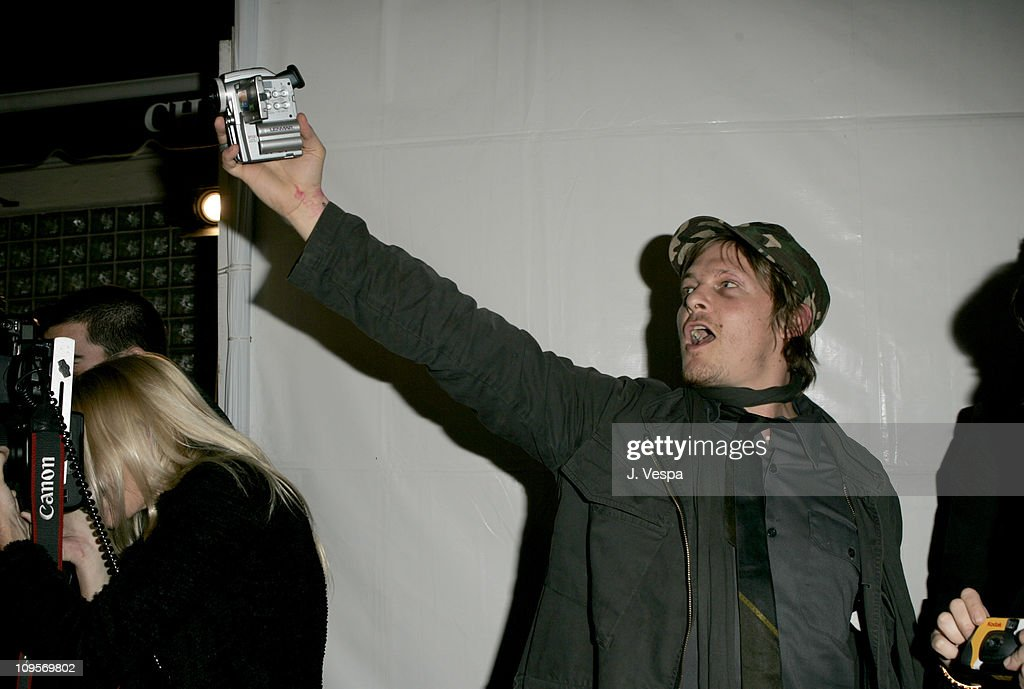 Norman Reedus during DKNY Jeans Presents 'Mick Rock Live in L.A.' Exhibit at the Lo-Fi Gallery at Lo-Fi in Los Angeles, California, United States.