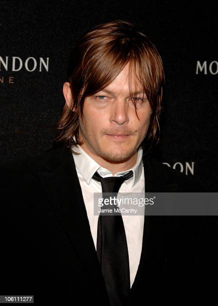 Norman Reedus during Frederic Cumenal and Elizabeth Hurley Present the Moet Chandon Fabulous Fete at Liberty Island in New York Harbor New York...