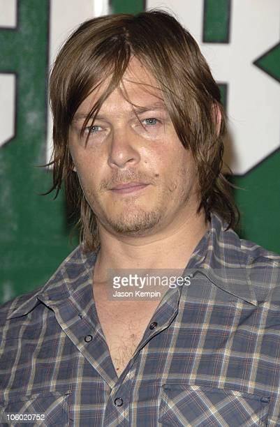 Norman Reedus during 'Invincible' New York Premiere August 23 2006 at The Ziegfeld Theater in New York City New York United States