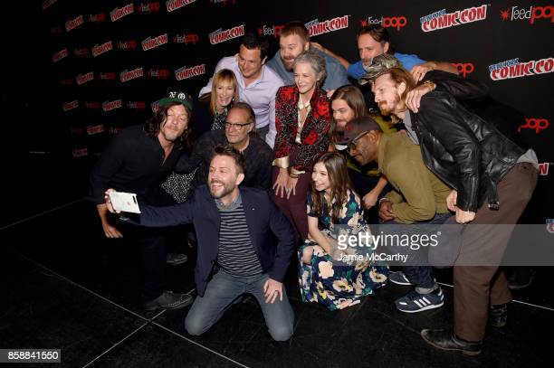 Norman Reedus Gale Ann Hurd Chris Hardwick Greg Nicotero David Alpert Robert Kirkman Melissa McBride Katelyn Nacon Tom Payne Lennie James Andrew...