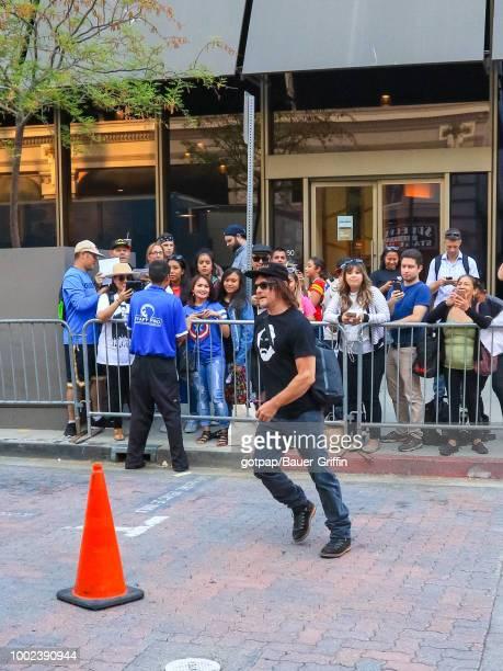 Norman Reedus is seen on July 19 2018 in San Diego California