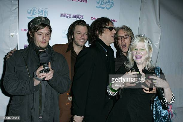 Norman Reedus Kelly Cole Mick Rock Andy Dick and Giddle Partridge