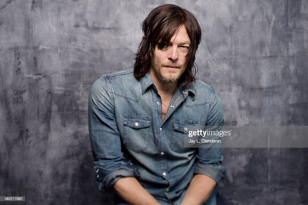 Norman Reedus of 'The Walking Dead' poses for a portrait at Comic-Con International 2015 for Los Angeles Times on July 9, 2015 in San Diego, California. PUBLISHED IMAGE.