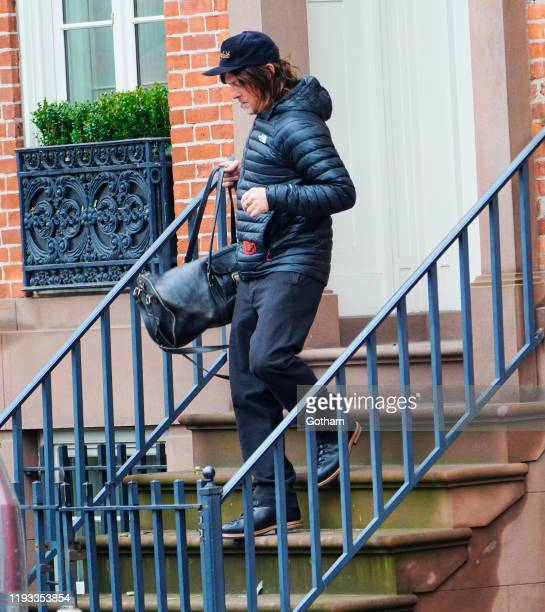 Norman Reedus out and about on December 11 2019 in New York City