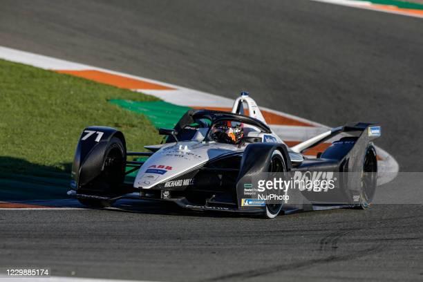 Norman , ROKiT Venturi Racing, Mercedes-Benz EQ Silver Arrow 02, action during the ABB Formula E Championship official pre-season test at Circuit...