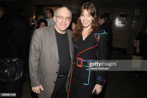 Norman Silverberg and Monica Moss attend HIGH SCHOOL OF FASHION INDUSTRIES Scholarship Event Honoring TIM GUNN at The High School of Fashion...