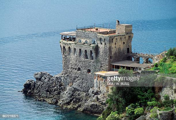 Norman tower Maiori Amalfi coast Campania Italy 12th14th century