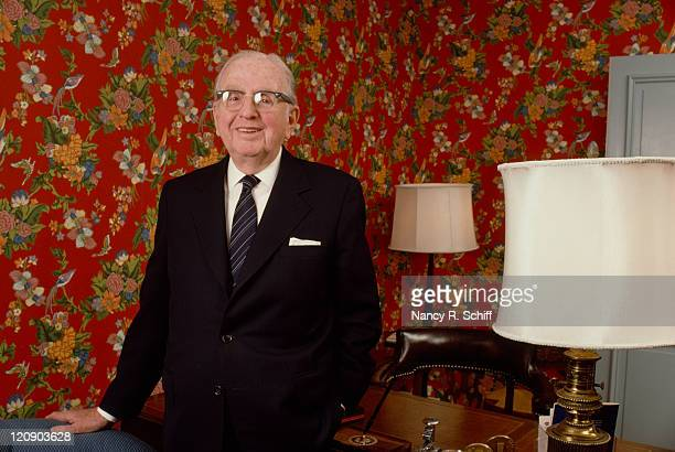 Norman Vincent Peale American writer minister and proponent of 'positive thinking' 1982